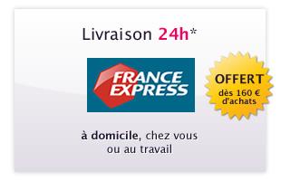 Livraison en 24 avec France Express
